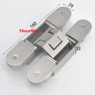 120kg heavy duty stainless steel adjustable concealed hinges