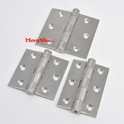 3 Inch stainless steel door hinge flat head furniture hinge