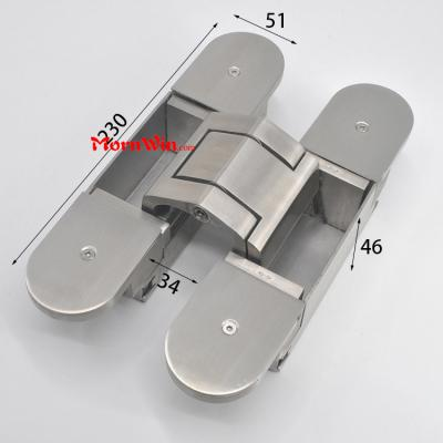 300kg stainless steel 3D invisible heavy duty concealed door hidden hinge