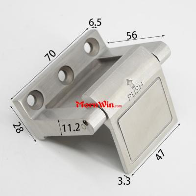 Stainless Steel 304 Casting Privacy Door Anti Theft Buckle Lock Safety Protection Door Guard