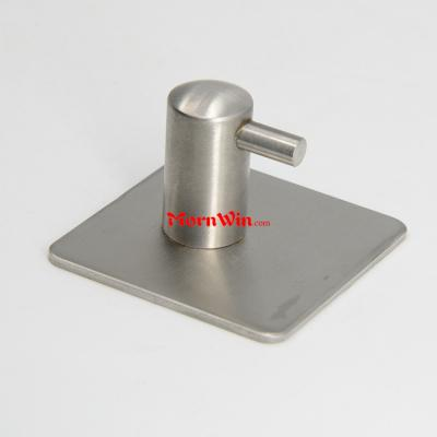 304 Stainless Steel Self Adhesive Wall Robe Coat Towel Hooks