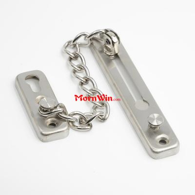 304 Stainless Steel Slide Hotel Metal Door Lock Chain