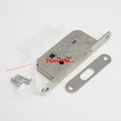 35mm backset stainless steel Mortise sliding door hook lock
