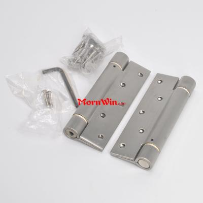 4 5 inch stainless steel adjustable double action spring door hinge