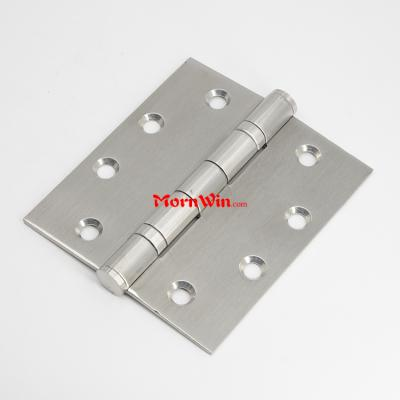 4.5 inch two ball bearings heavy duty stainless steel door hinge