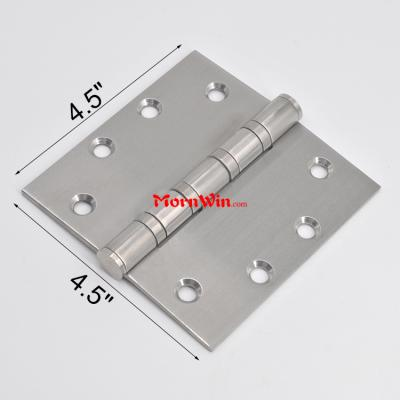 4.5 inch ball bearings heavy duty stainless steel door hinge