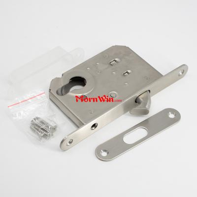 50mm backset Stainless steel sliding cylinder hook door locks