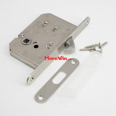 50mm backset sliding hook latch door lock body for spindle