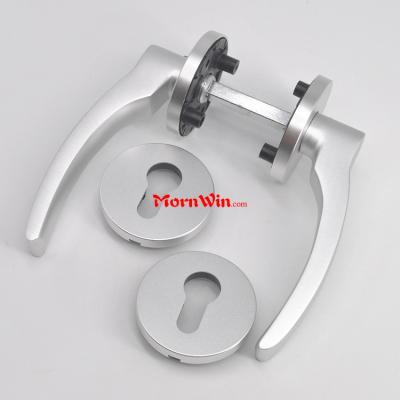 Aluminum Die casting Solid Door Llever Handle