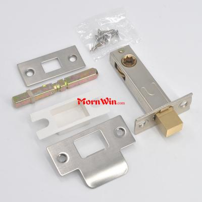 Bath Room Lock Latch Brass Satin Nickle Internal Privacy Door Square Latch