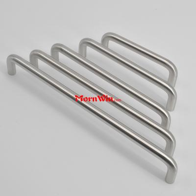 Cabinet drawer U shape solid furniture handle stainless steel pull handle