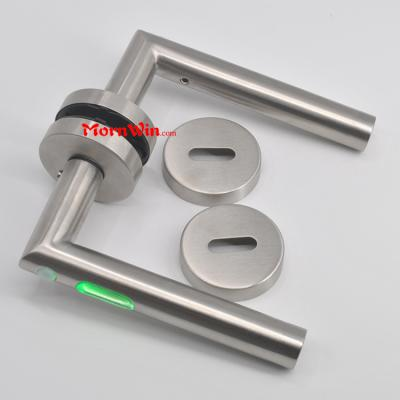 China wholesale residential LED light stainless steel 304 door handle
