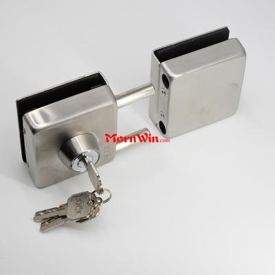 Durable high quality safety stainless steel Glass To Glass Door lock