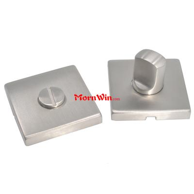 European style 304 stainless steel square shape door knob