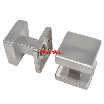 European style interior square 304 stainless steel door knob