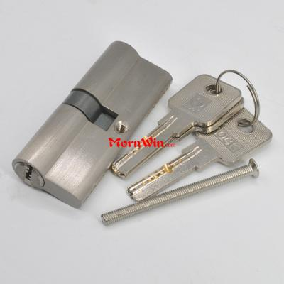 Full brass double open high quality lock cylinder