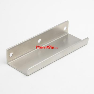 Furniture Handle Cabinet Pull Stainless Steel Edge Pull