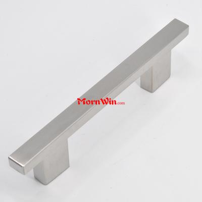Kitchen furniture square stainless steel cabinet door handle