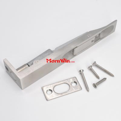 L Shape Solid Casting Stainless Steel Lever Action Flush Latch Bolt