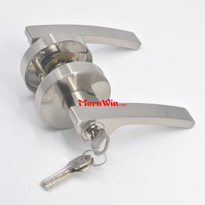 New North America Euro Heavy Duty Tubular Lever Door Handle Lock