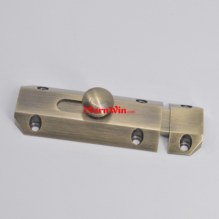 Novel design wholesale brass door bolts door extension flush bolt lock