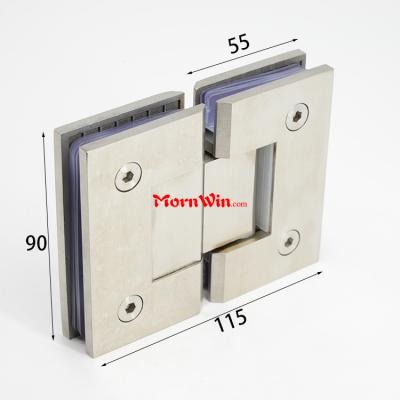 SS304 Stainless steel double action glass door hinge