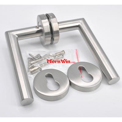 Simple Design Stainless Steel Lever Door Handle