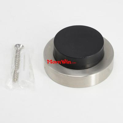 Stainless Steel Wall Mounted Door Stopper Flush Bumpers