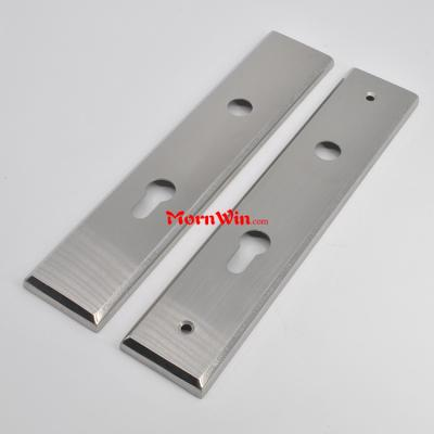 Stainless steel 260mm 52mm door handle cover 85mm distance face full plates