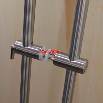 Stainless steel 72 inch Lock Pull Handle For Glass Doors