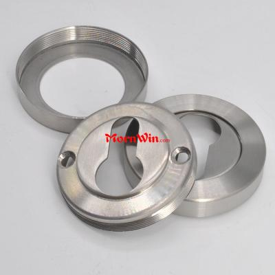 Top quality stainless steel door cylinder rosette escutcheson