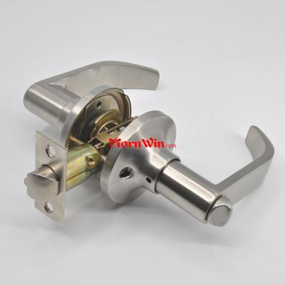 cylindrical tubular zamak zinc alloy lever handle door lock