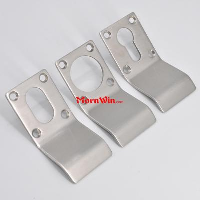 door lever escutcheon handle key hole Stainless steel UK Keyhole escutcheon plate