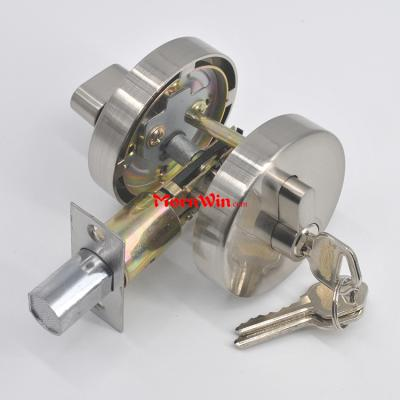 durable heavy duty round roseset zinc alloy deadbolt door lock