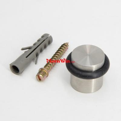 stainless steel exterior stopper round rubber furniture door stop