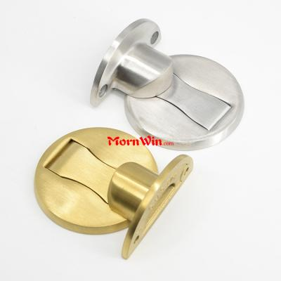 stainless steel stronger magnetic door catch floor door stopper